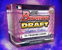 2019 BOWMAN DRAFT SAPPHIRE EDITION BASEBALL LIVE RANDOM PLAYER 1 BOX BREAK #2