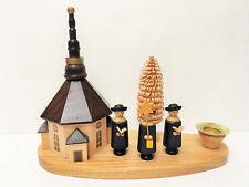 Zeidler Vintage 3!Member Choir Boy figurines Tree, Church Candleholder - Germany