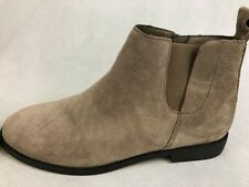 LANDS END, Ladies Grey Suede Chelsea Boots, Round Toe & Zip, UK6/EU39, RRP £140