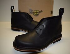 Dr.Martens Deverell Men's Ankle Boot Black Leather Size US 10 EU 43 NEW $140