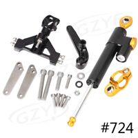 Steering Damper Stabilizer Bracket for Kawasaki Ninja ZX14R ZZR1400 2006 - 2012