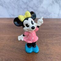 "Vintage Walt Disney Japan - Minnie Mouse 4"" porcelain figurine Made in Japan"