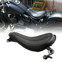 Solo Seat & Brackets Spring Cushion For Harley Sportster Iron 883 XL1200 XL883