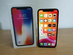 Apple iPhone X - 256GB - Space Grey  (SIM Free) Unlocked  - Excellent Condition