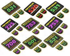 REYNOLDS Tubing 501 520 531 708 725 753 Decals Sticker Aufkleber Vintage 3teilig