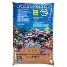 Nature's Ocean 20 lbs Australian Gold Bio-Activ Live Aragonite Reef Sand