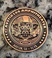 Phish 7/28/15 Austin Tx Collectable Coin