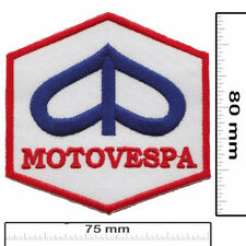 PIAGGIO MOTOVESPA Iron On Embroidered Patch Vespa Italy Italia Motorcycles Biker