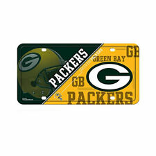 NFL Green Bay Packers Metal License Plate Tag