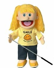 Silly Puppets Katie (Peach) Glove Puppet - 14-inch