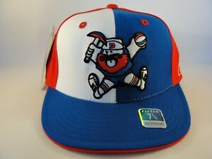 Denver Nuggets NBA Reebok Retro Fitted Hat Cap Size 7 1/8 Blue White Red