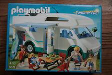 Playmobil Summer Fun Famille avec Camping-Car 6671