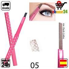 #5 Lapiz impermeable CAFE OSCURO CEJAS Ceja delineador ojos maquillaje dibujar *