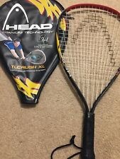 Head Racquetball Racquet Ti.Crush Xl Sudsy Munchik, Titanium Technology