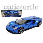 Maisto 2017 Ford GT 1:18 Diecast Model Car 31384 Blue