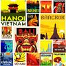 "South East Asia Fridge Magnet Poster Vintage Cute Art City Gift Travel 2 x 3"""