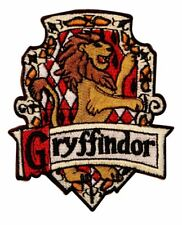 """Harry Potter Gryffindor Chest Uk 3 1/4"""" Tall Embroidered Patch"""