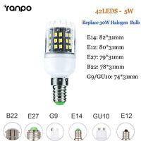 E12 E14 E27 G9 LED Corn Bulb Light 2835 SMD 30W - 100W Halogen Lamp Replacement