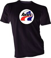 INDIANAPOLIS RACERS DEFUNCT WHA HOCKEY VINTAGE Black STYLE T-SHIRT NEW gretzky