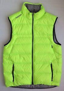 $198 Men Ralph Lauren RLX Down Quilted Puffer Vest Down Coat Ski Jacket M L