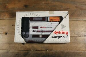 Vintage Rotring College Set - Isograph - Technical Pen Set -Art.151413-W.Germany