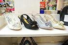 Womens shining diamante Evening Wedding Ball High HeeL Shoes