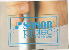 Vintage Musikinstrument Katalog #10516 - Sonor Schlagzeug-Protec
