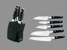 MH Forged Stainless Steel Sushi Knives Set Knife Block