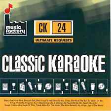 Mastermix (Music Factory) Classic Karaoke CK024 - Ultimate Requests