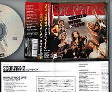 SCORPIONS World Wide Live JAPAN 1CD w/OBI+BOOKLET+INSERT TOCP-53208 Free S&H/P&P