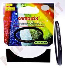 CAMDIOX 52MM UV MC PRO1 DIGITAL FILTRE SUPER SLIM ULTRAVIOLET PAS DE HOYA