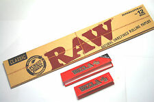 1 x Raw 12 inch Giant Super Kingsize Rolling Papers Supernatural 20 Per Pack BN