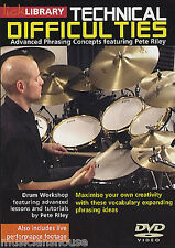 LICK LIBRARY TECHNICAL DIFFICULTIES Learn to Play Phrasing Concepts DRUMS DVD