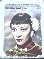 INSIDIA DORATA Cineromanzo Silvia Bataille Film Cinema