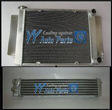 Mazda RX2 RX3 RX4 RX5 Aluminum Radiator + Aluminum Oil Cooler