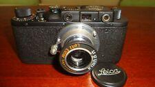 Russian Leica Copy D.R.P. ERNST LEITZ WETZLAR WW2 Vintage 35MM Camera SN275613