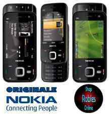 Nokia n85 Cherry Black (Senza SIM-lock) Smartphone 3g 5mp WLAN GPS come nuovo OVP