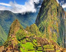 METAL MAGNET Machu Picchu Peru Travel Landscape Ruins MAGNET