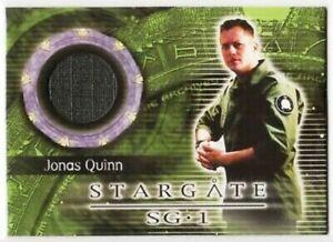 STARGATE SG-1 SEASON 7 - PIECEWORKS CARD 2003 - CORIN NEMEC AS JONAS QUINN C25