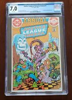 Justice League of America Annual #1 (1983) DC Comics CGC 7.0 - KEY ISSUE