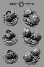 Alien Invasion OM2501 Objective Markers 25mm Secret Weapon Miniatures Gaming