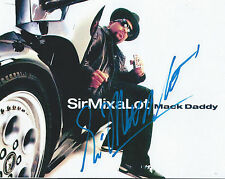 Sir Mix a Lot signed/auto Music Rap Hip Hop Baby Got Back Rare PROOF COA LOOK!