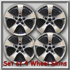 """2011-2012 17"""" Dodge Charger Chrome Wheel Skins Hubcaps Chrome Wheel Covers Set 4"""