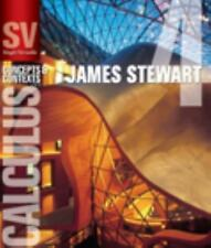Single Variable Calculus: Concepts and Contexts Stewart, James Hardcover