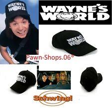 Wayne/'s World Chapeau Halloween Costume Snapback MESH TRUCKER CAP Casquette 90 S 80 S Garth