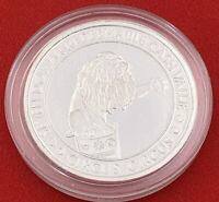 Casino Strike Lion Circus Circus $7 Token .999 Fine Silver Reno Nevada 20-2935G