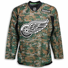 NHL Detroit Red Wings Camo Practice Jersey-X-Large