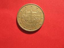 50 Euro Cent Münze 2009, Slowakei, Slowakai, Slovenska, gut erhalten
