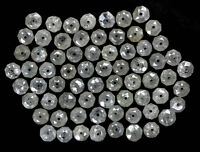 Natural Loose Diamond Ice Grey Round Drilling Beads I3 Clarity 1.00 CtLot NQ489