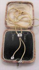 Yellow Gold Excellent VVS1 Fine Diamond Necklaces & Pendants